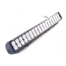 Двухрядная LED балка комбинированного света CH054, мощность 80-240W, длина 20-52 см, светодиоды CREE 10W