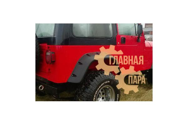 Расширители колёсных арок lapter на Jeep Wrangler YJ