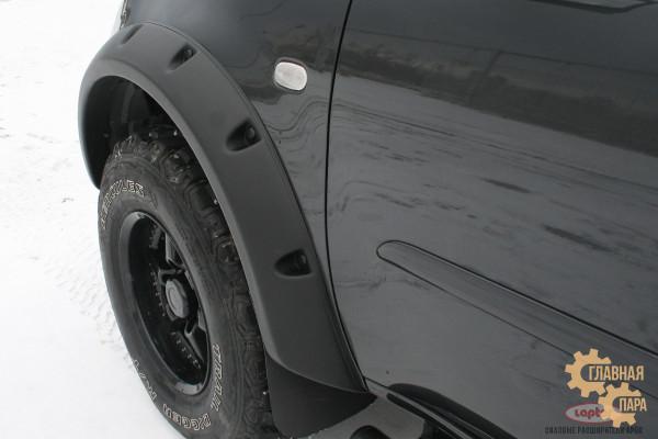 Расширители колёсных арок lapter на Mitsubishi L200 2007-2015